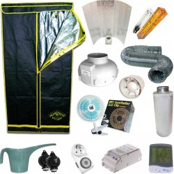 Kit de Cultivo Indoor Mr. Natural 400W + Armario Pure Tent de 1m2