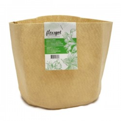 Maceta Textil Beige 11,4L · Flexapot