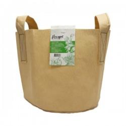 Maceta Textil Beige 19L · Flexapot