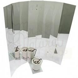 Reflector Aluminio Brillo Liso