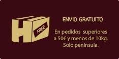 Envío gratuito para pedidos superiores a 300€